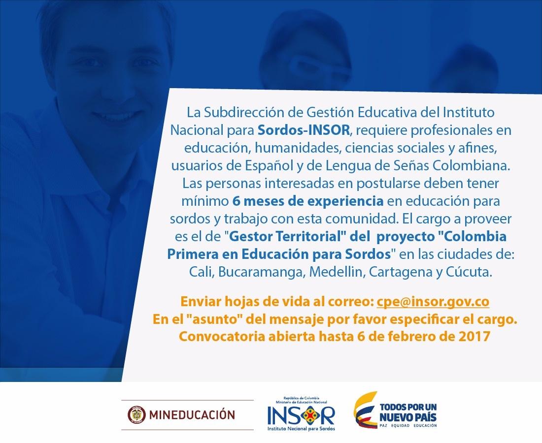 Imagen Oferta Laboral Febrero 2017
