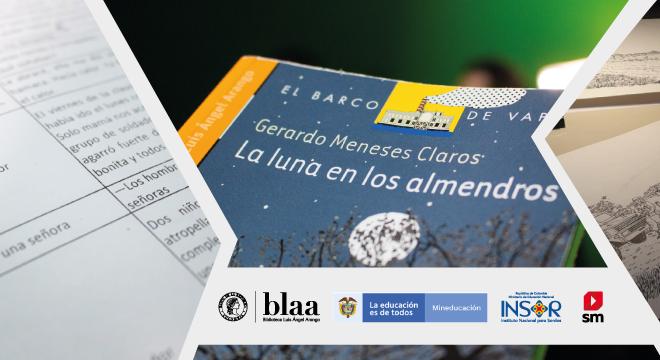 """""""LA LUNA EN LOS ALMENDROS"""", El Primer Libro en Lengua de Señas Colombiana"""