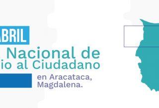 El INSOR participará en la feria nacional del servicio Al ciudadano en Aracataca, Magdalena