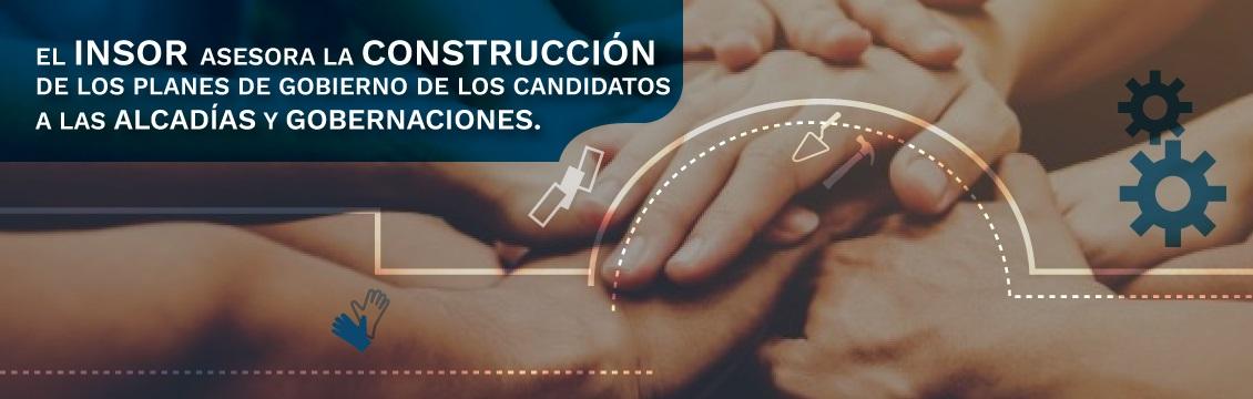 Banner El INSOR asesora la construcción de los Planes de Gobierno de los Candidatos a las Alcaldías y Gobernaciones