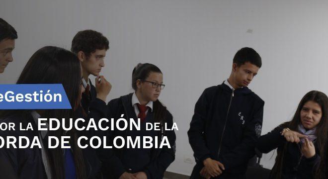 #180DíasDeGestión Trabajando por la Educación de la Población Sorda de Colombia