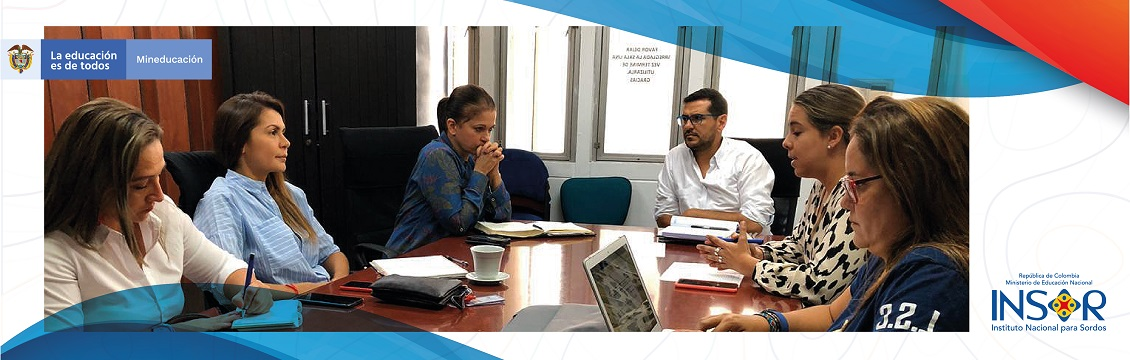 Banner Cali recibe acompañamiento del INSOR en el fortalecimiento de su educación bilingüe y bicultural para estudiantes sordos