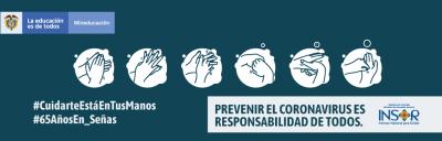 Prevenir el coronavirus es responsabilidad de todos