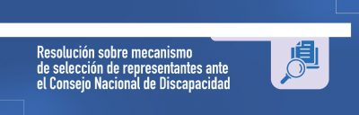 Banner Consejeros Nacionales de Discapacidad