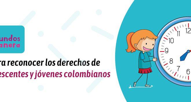 Concurso para reconocer los derechos de los niños, adolecentes y jóvenes colombianos