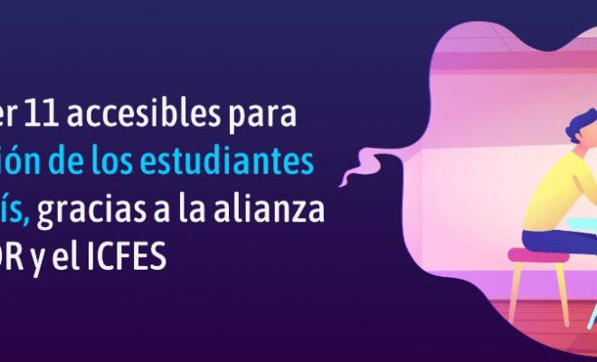 Pruebas Saber 11 accesibles para la participación de los estudiantes sordos del país, gracias a la alianza entre el INSOR y el ICFES.