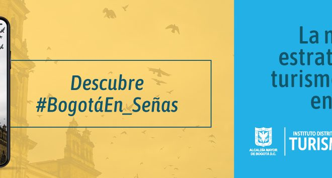 Banner Bogotá en señas