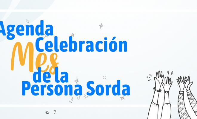 Banner Celebración Mes de las personas sordas