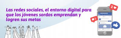Banner de la nota de prensa del conversatorio El uso de las redes sociales: Una juventud sorda sin límites.