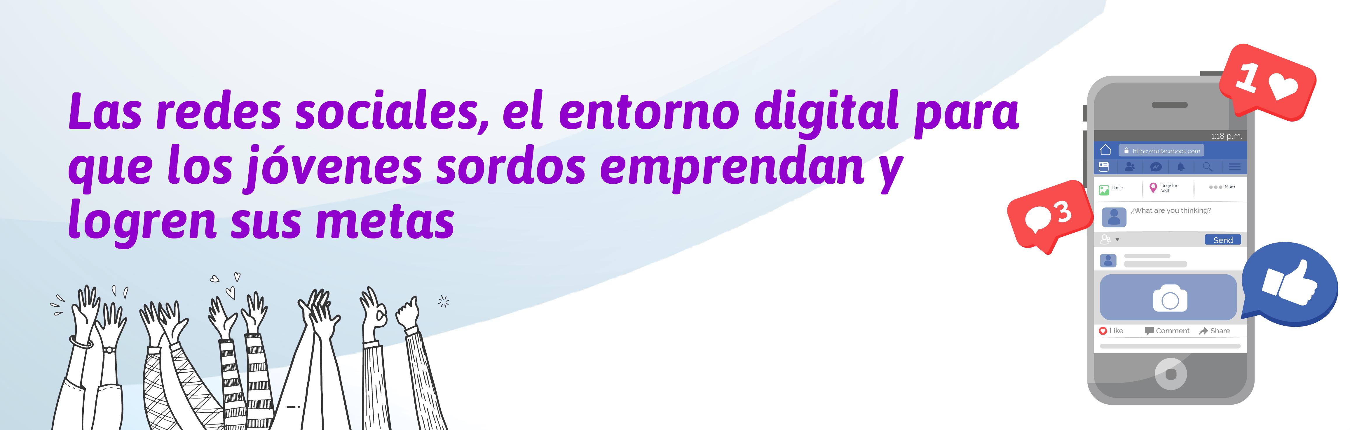 Banner de la nota de prensa del conversatorio El uso de las redes sociales: Una juventud sorda sin límites