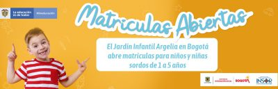 Banner apertura matrículas 2021 Jardín Infantil Argélia