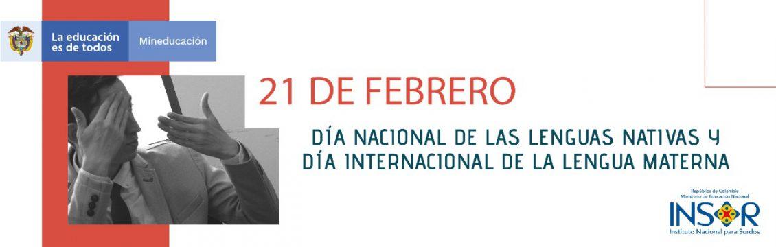 Día nacional de las lenguas nativas y día internacional de la lengua materna