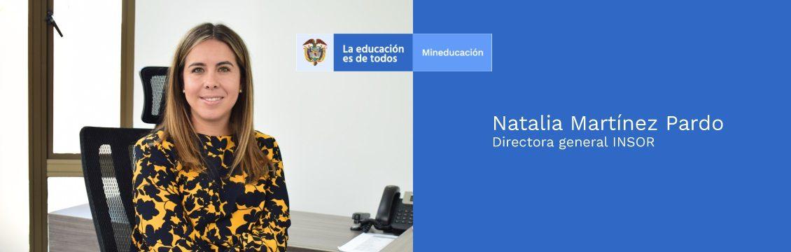 Natalia Martínez Pardo, nueva directora del INSOR